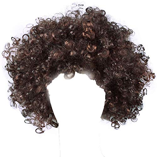 Sunmoot Halloween Hair Accessories Exploding Head Clown Fans With The Same Wig -