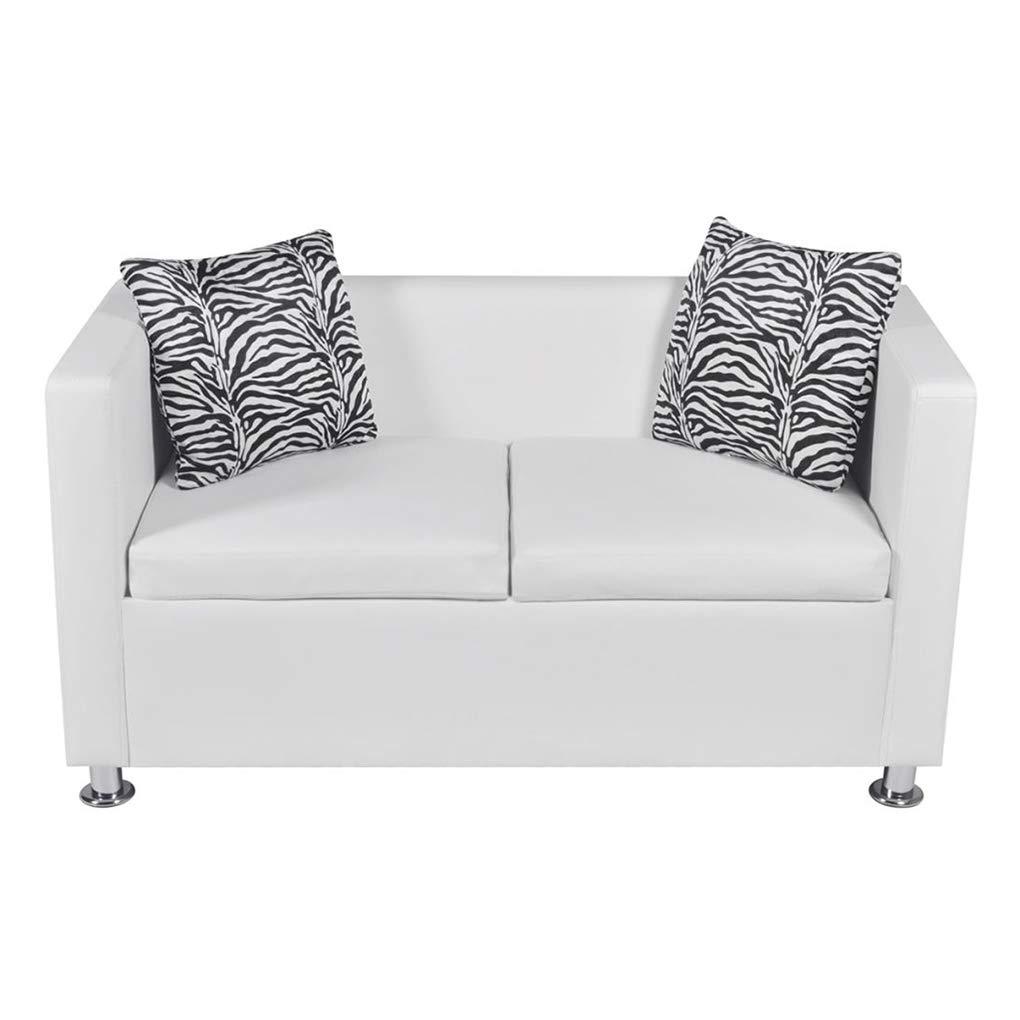 Pleasing Amazon Com Wrea 2 Seaters Artificial Leather Sofa Living Creativecarmelina Interior Chair Design Creativecarmelinacom