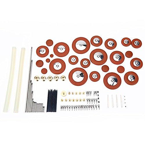 Alto Sax Part - Alto Saxophone Repair Tools, Sax Parts Screws Springs Glue Adhesive Stick Pads Instrument Accessories
