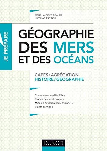 Géographie des mers et des océans - Capes et Agrégation - Histoire-Géographie