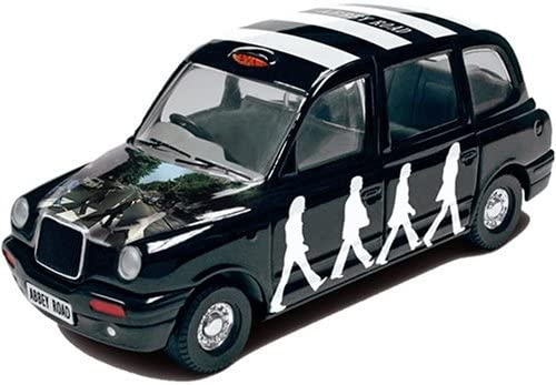 B0018LQXOM The Beatles Album Cover 1:36 Scale Die-Cast Collectable Taxi with Abbey Road Album Cover Art 51QclyEtQaL.