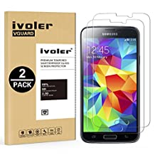 Galaxy S6 Edge Plus Screen Protector [Full Coverage] ,iVoler [2-Pack] [3D Full Curved Edge] [No Bubble] [Ultra Clear] Premium PET Film Screen Protector for Samsung Galaxy S6 Edge Plus, LIFETIME WARRANTY
