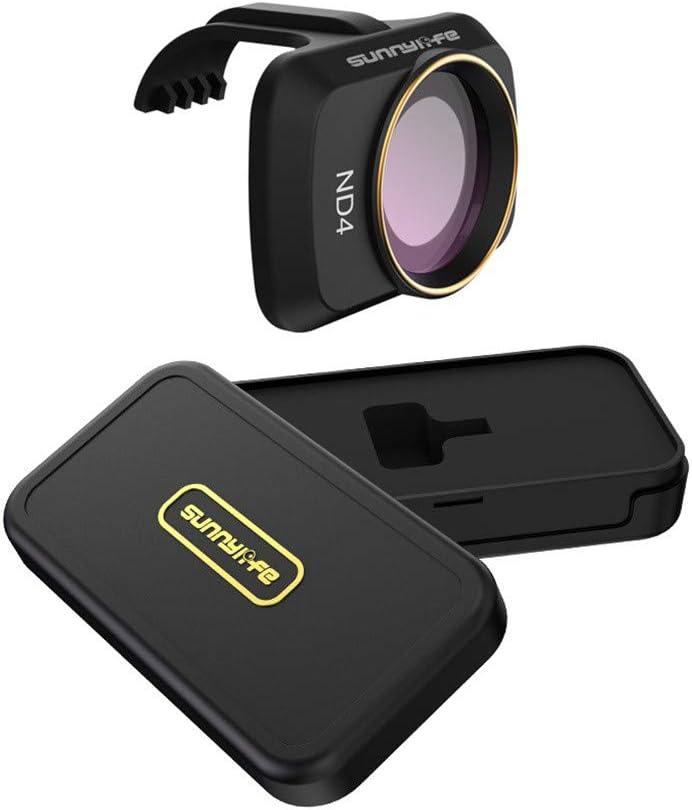 Ktyssp 4PCS ND4+ND8+ND16+ND32 Camera Neutral Lens Filters for DJI Mavic Mini Drone