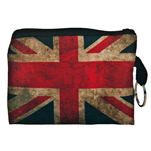 (GBSELL Cool Printing Key Phone Change Small Clutch Bag Purse (Union Jack) )