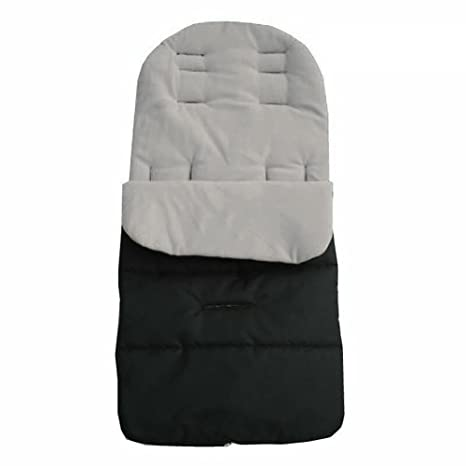Saco de dormir universal para cochecito de bebé, con forro polar suave y forro polar