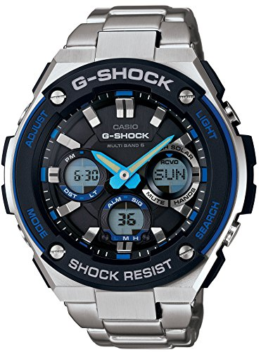 Casio G Shock S Steel Multi GST W100D 1A2JF