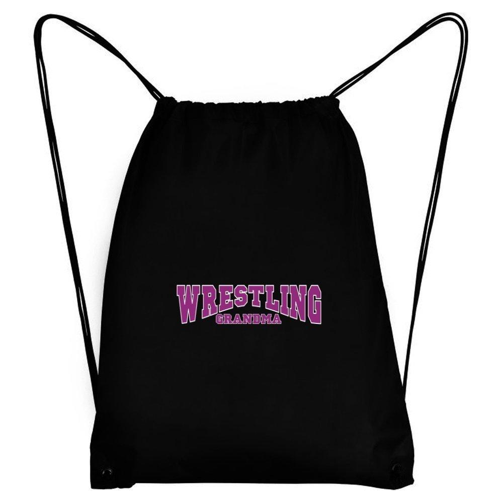 Teeburon Wrestling GRANDMA Sport Bag