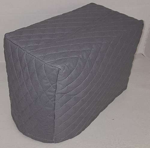 Quilted Toaster Cover (4 Slice, Gray)