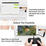 USB C to USB Adapter - 2Pack 0.6FT EVISTR Type C to