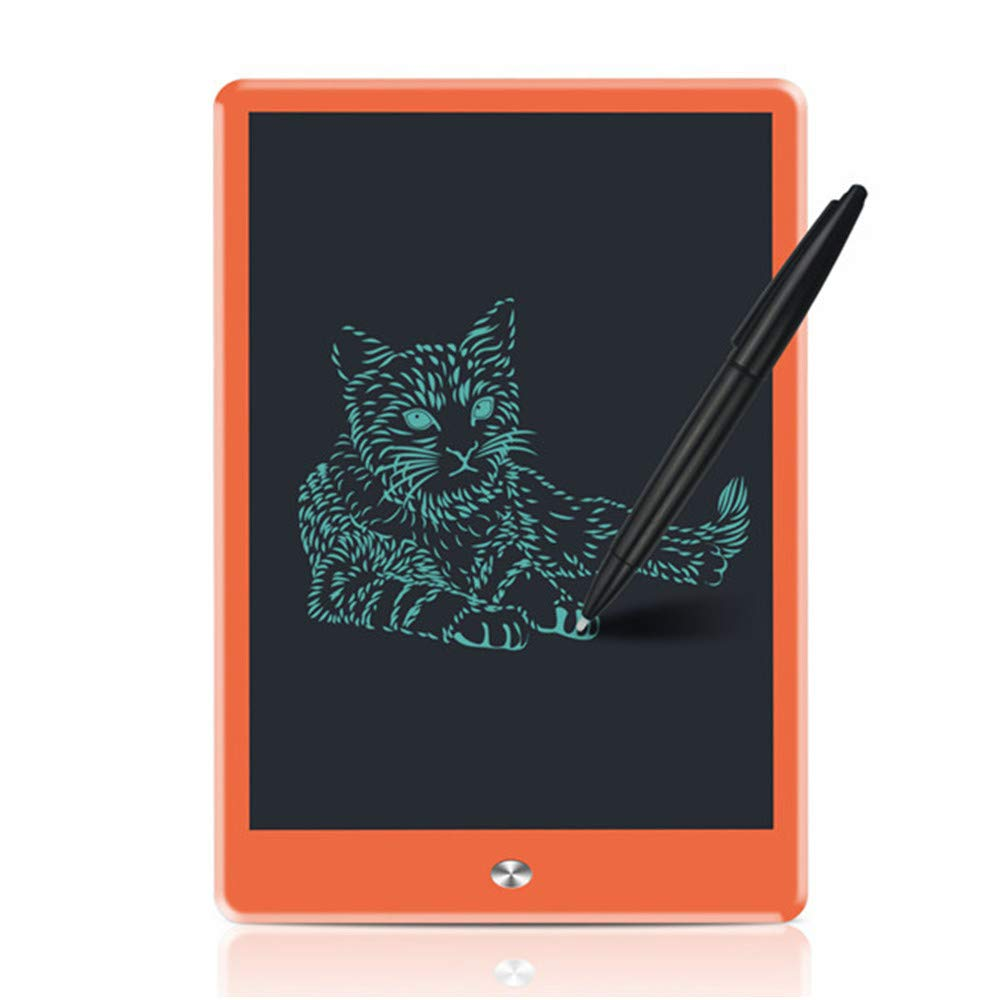 orange ZCLD 10 inch Digital tablet Portable Mini LCD Writing Screen Tablet Drawing Board and Stylus Pen graphics pad for kids,orange