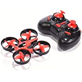 Rundao NH010 Mini Drone with 3D Flips, Headless Mode, One Key Return, Full Protectors, 2.4G ,6-Axis Gyroscope, Anti Crush UFO RC Quadcopter