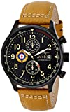 AVI-8 Men's AV-4011-06 Hawker Hurricane Analog Display Japanese Quartz Brown Watch