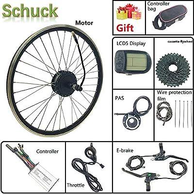 Schuck Kit de conversión Ebike, 36V250W Bicicleta eléctrica ...