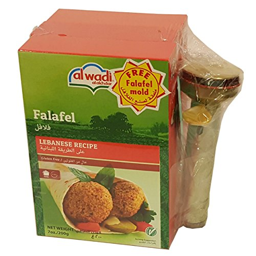 Al Wadi Falafel Mix Lebanese Recipe with Free Mold
