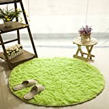 SANNIX Round Shaggy Area Rugs And Carpet Super Soft Bedroom Carpet Rug For  Kids Play (