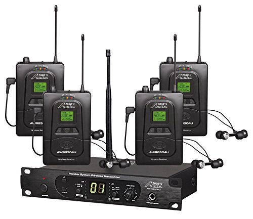 Audio2000'S In- In-Ear Audio Monitor System (AWM6306U) (Best Musicians Of The 2000s)