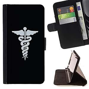 Jordan Colourful Shop - doctor hospital medical symbol For Apple Iphone 6 PLUS 5.5 - Leather Case Absorci???¡¯???€????€????????