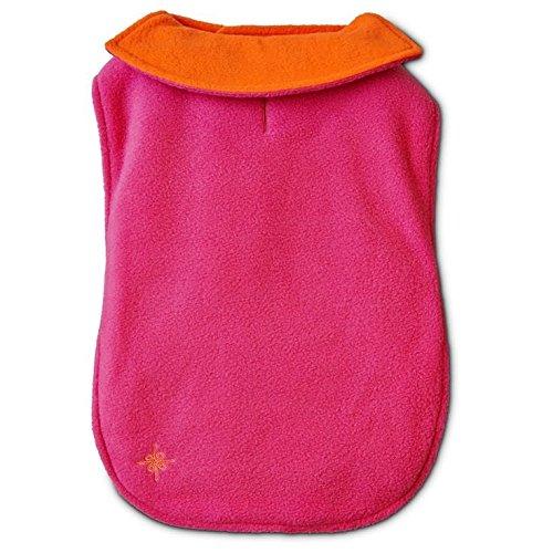 Good2Go Orange & Pink Reversible Cozy Coat Dog Jacket~XXl/XXXL~