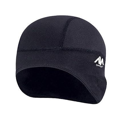 Amazon.com  AYAMAYA Skull Cap Helmet Liner d6f803adcc36