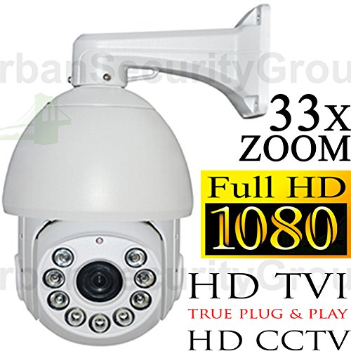 USG HD-TVI PTZ 33x Optical Zoom Speed Dome Security Camera 1