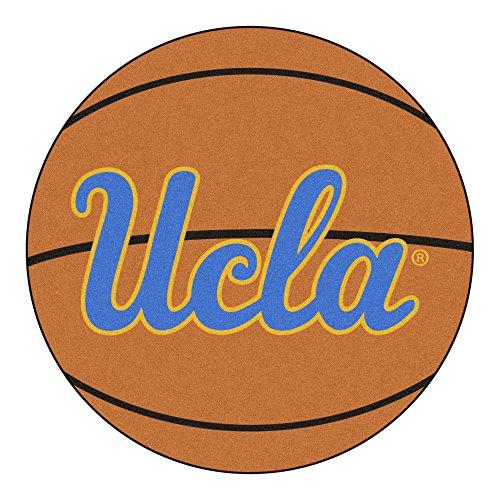 - NCAA University of California - Los Angeles (UCLA) Bruins Basketball Shaped Mat Area Rug