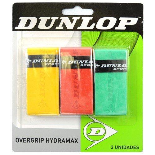 DUNLOP OVERGRIP Hydramax 3 UNID AMAR Naranja Verde: Amazon.es ...