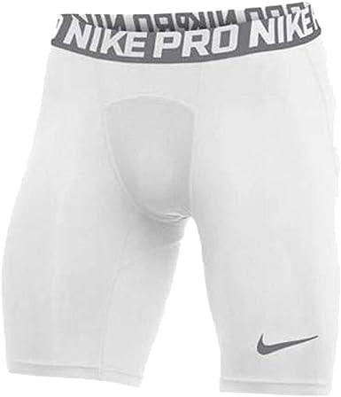 Nike Men's Pro Short (White, Small)