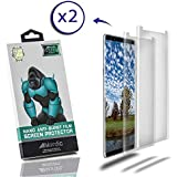 Nordic 2 Pack Nano Anti-Burst Protective Clear Film Screen Protector for Android Samsung Galaxy S9 and S8 Smartphone: 9H Hardness, TPU Silicon, No-Scratch, and Shock-Proof, Bubble-Free Within 24 Hours