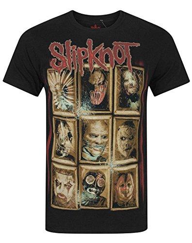 Slipknot New Masks Men's T-Shirt (XXL)