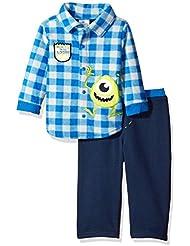 Disney Baby Boys' 2-Piece Monsters Inc. Fleece Set
