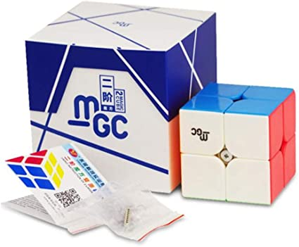 YJ 2x2 MGC Magnetic speed cube puzzle