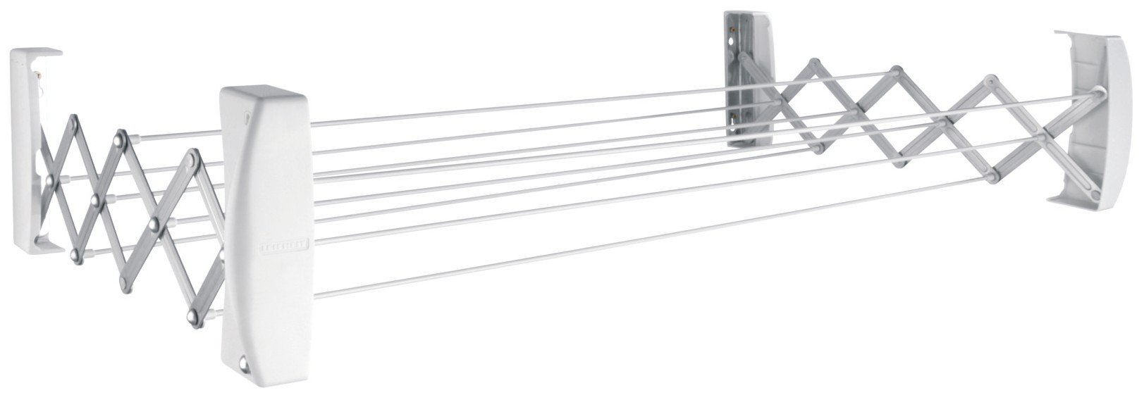 Leifheit Teleclip 74 Extendable - Tendedero de pared de metal, 12x110.8x11 cm,
