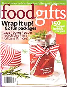 Food Gifts Better Homes And Gardens Special Interest