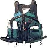 Best Stohlquist Fishing Jackets - Stohlquist Piseas Personal Floatation Device, Evergreen, Universal Plus Review