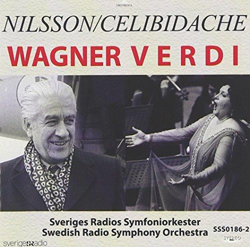 セルジウ・チェリビダッケ(指揮) ビルギット・ニルソン(ソプラノ) スウェーデン放送交響楽団 / チェリビダッケ&ニルソンによるワーグナー、ヴェルディ