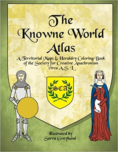 Amazon Com The Knowne World Atlas A Territorial Maps Heraldry
