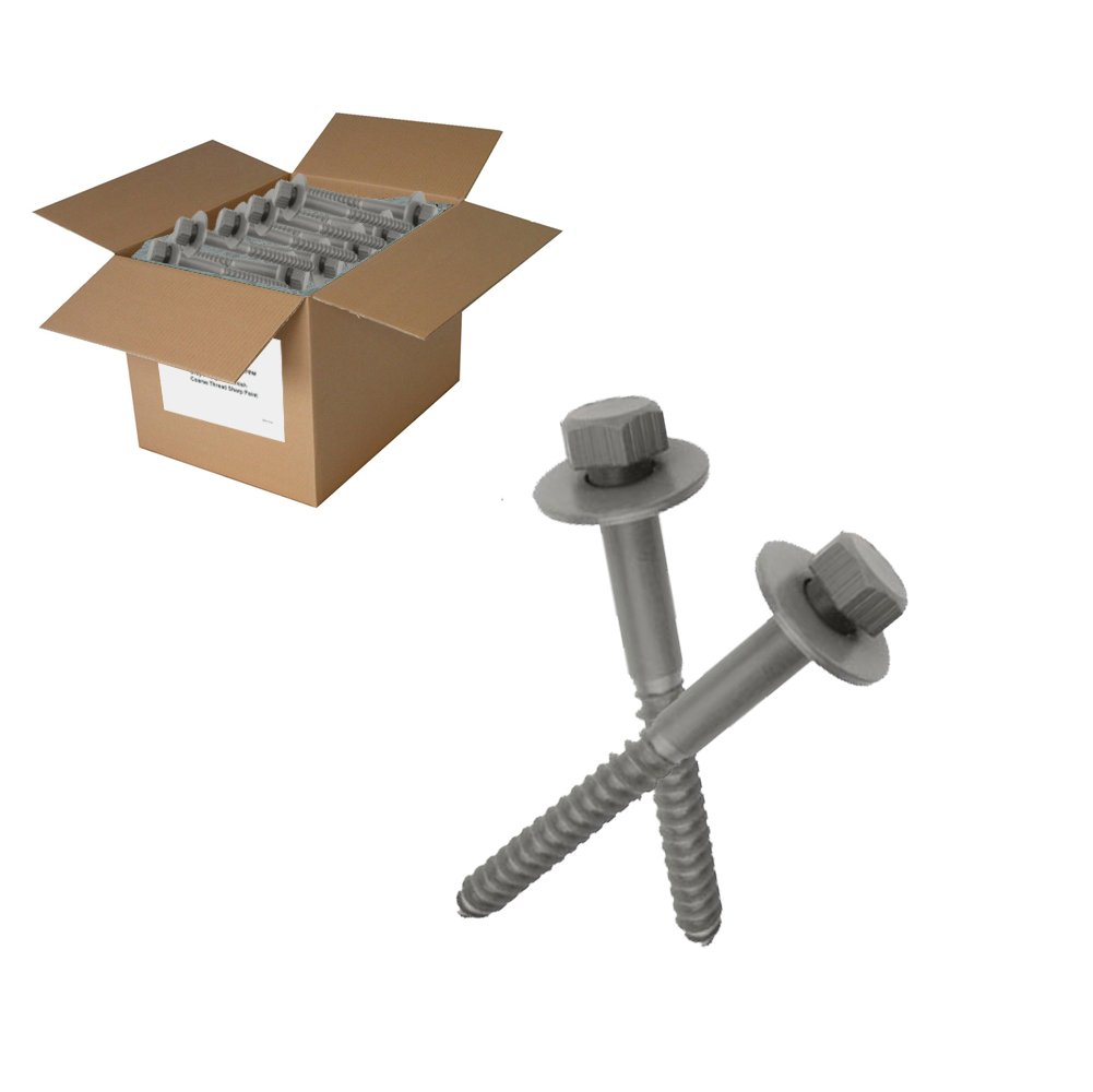 150 pc 1/2 x 6' Lag Bolts with washers Factory Direct Screws