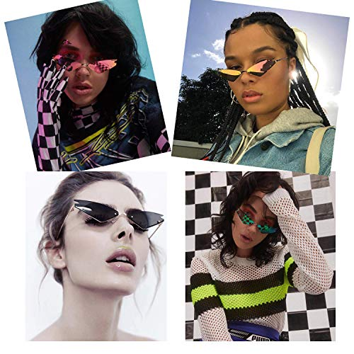 Amazon.com: Faguma - Gafas de sol para mujer, diseño de ojo ...