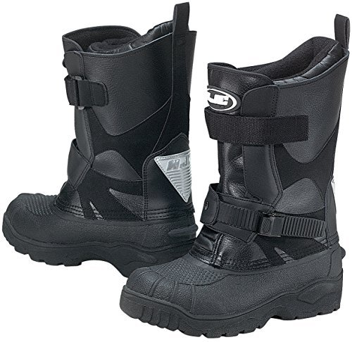 HJC Closeouts Standard Men's Snow Boots (Black, Size 5)