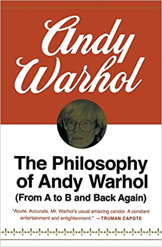 Image result for philosophy of andy warhol book
