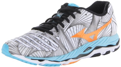 Mizuno Women's Wave Paradox Running Shoe,White,6 B US ()