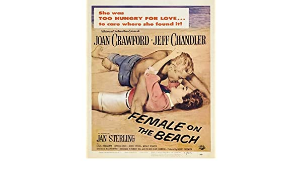 "/""Female on the Beach/"" Joan Crawford...Vintage 1955 Movie Poster Various Sizes"