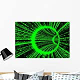 Matrix Tunnel (render) – 36″W x 24″H – Peel and Stick Wall Decal by Wallmonkeys Picture