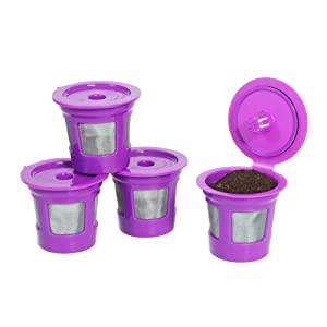 Eco-Save Reusable Coffee Filter Capsules (4)