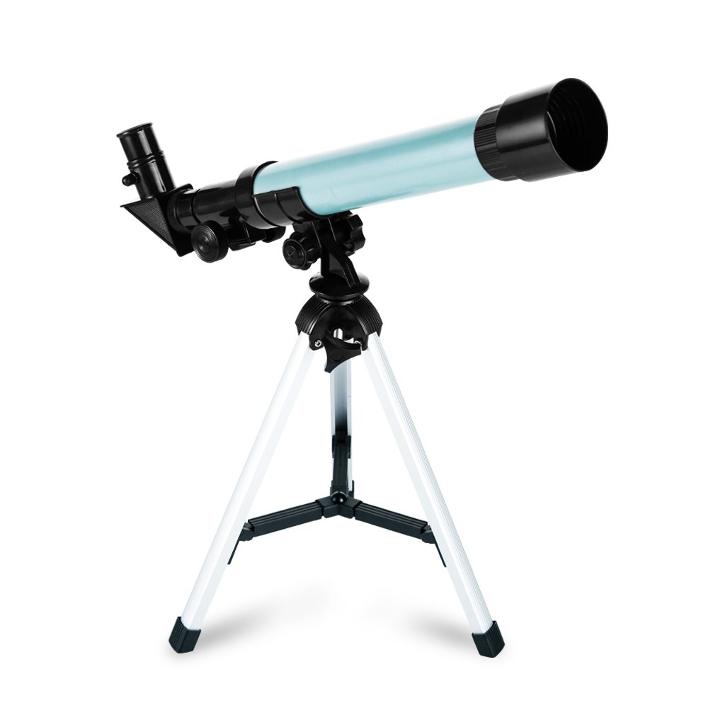 ToyerBee Telescope for kids Educational Preschool Science Telescope Plastic Toy for Beginners My First Telescope 3 Magnification Eyepieces and Tripod Enjoy Steady Observation of Astronomy By