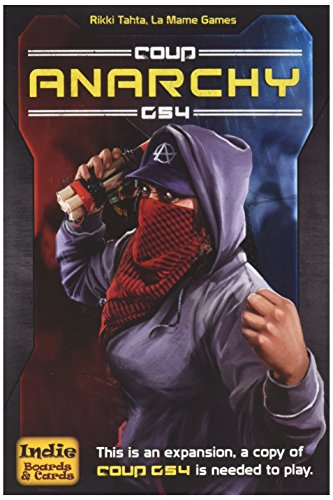 Coup Rebellion G54 Anarchy Game