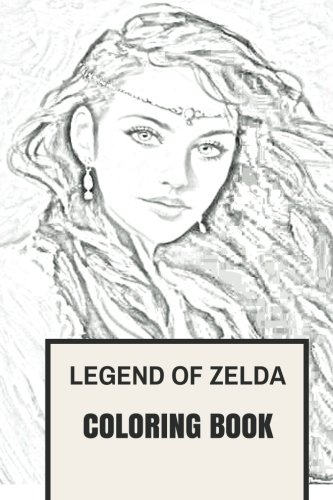 zelda coloring book - 1