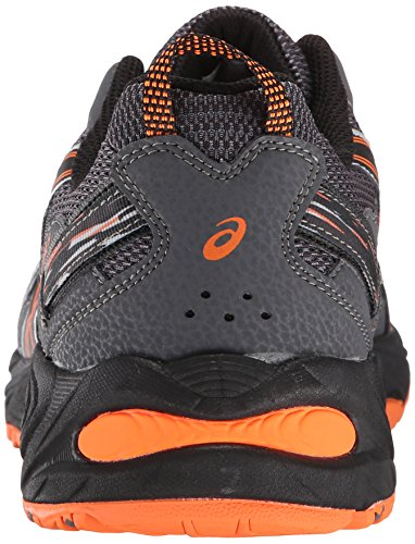 55ebbd152f3 SHOPUS | ASICS Men's Gel-Venture 5-M, Carbon/Black/Hot Orange ...