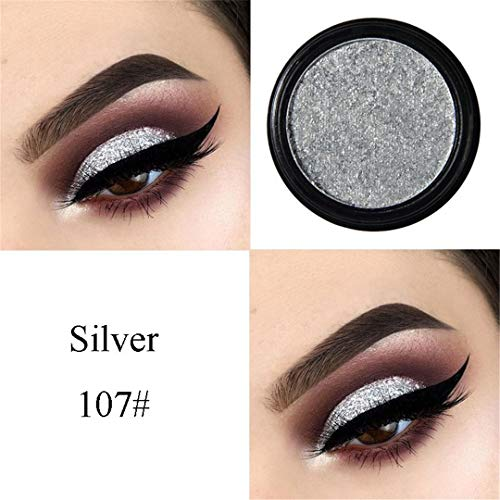 Amazon.com : 24 Colors Natural Matte Eyeshadow Palette Pigment Eye Shadow Makeup NEW Pro Cosmetic Eyeshadow Top Quality Silver : Beauty