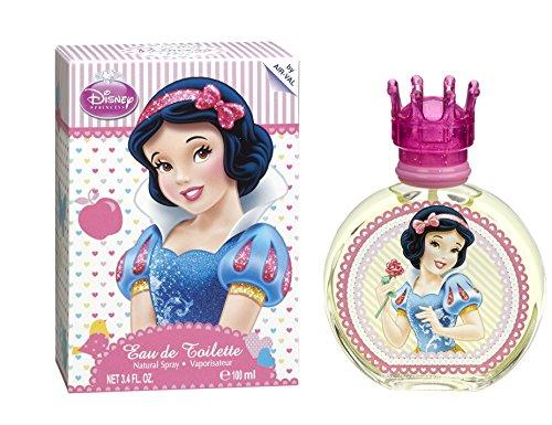 Disney Snow White Eau De Toilette Spray for Kids, 3.4 Ounce (Disney White Perfume)